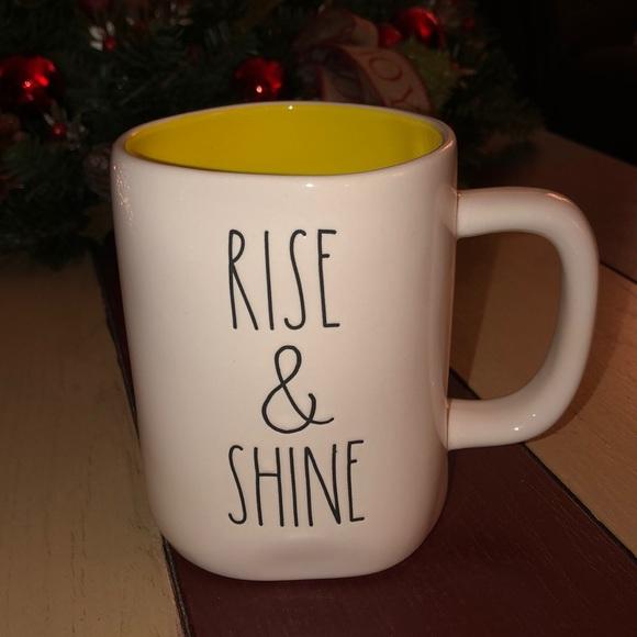 Rae Dunn RISE & SHINE Mug